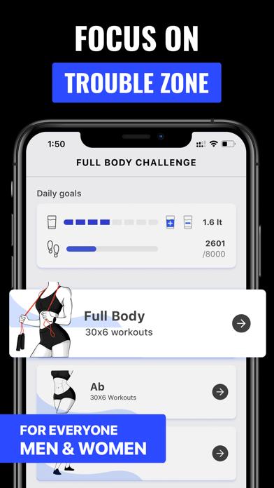 自宅での30日間のフィットネス減量チャレンジアプリのおすすめ画像2