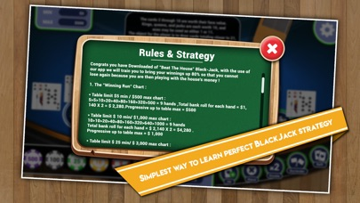 Screenshot for Beat the house Black-Jack in Viet Nam App Store
