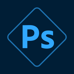 Ícone do app Photoshop Express-Editor foto