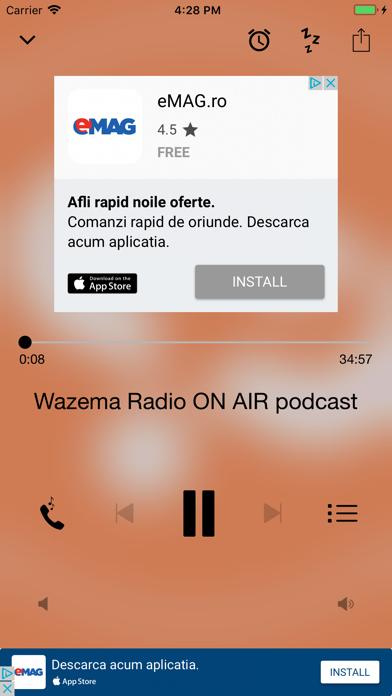 Wazema Radio screenshot two