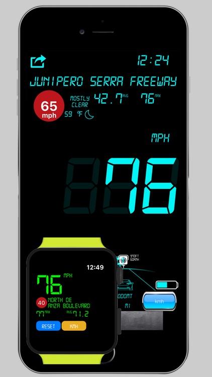 Speedbox Digital Speedometer screenshot-0
