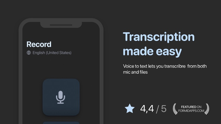 Voice to Text Pro - Transcribe screenshot-4