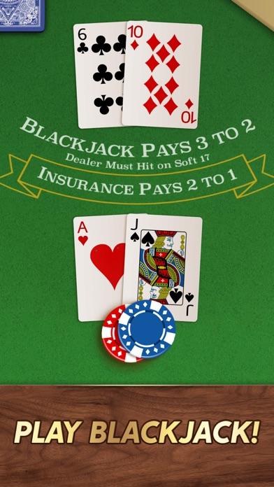 Blackjack 21 ⁂ screenshot 1
