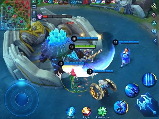 Mobile Legends: Bang Bang ipad ekran görüntüleri