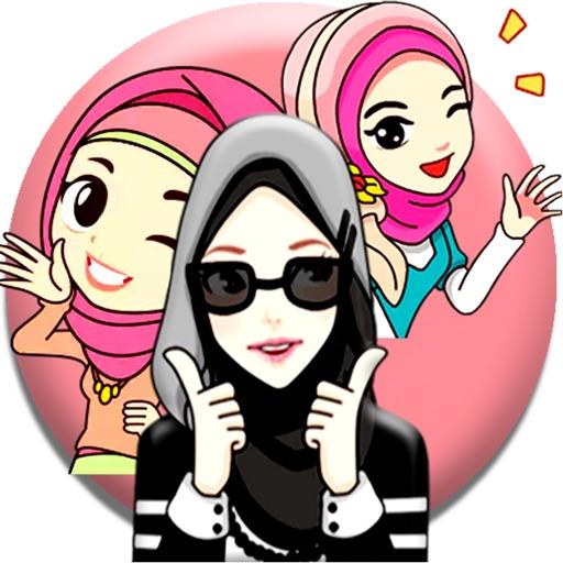 Hijab Muslimah Sticker App For Iphone Free Download Hijab