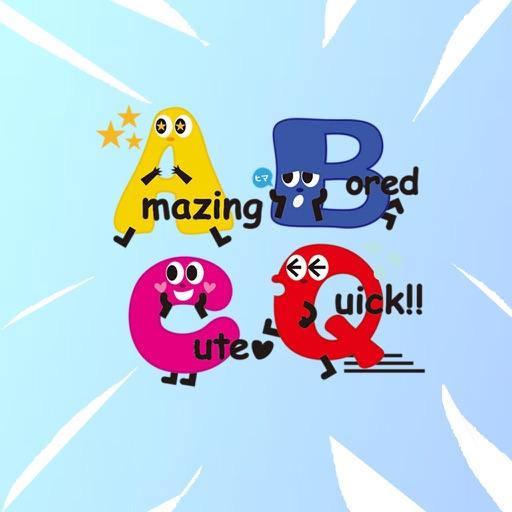 Alphabet Emoji Stickers download