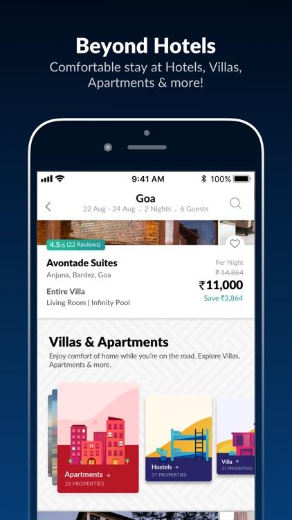 MakeMyTrip - Flights, Hotels screenshot-3