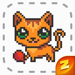 Magic Cross Stitch: Pixel Art