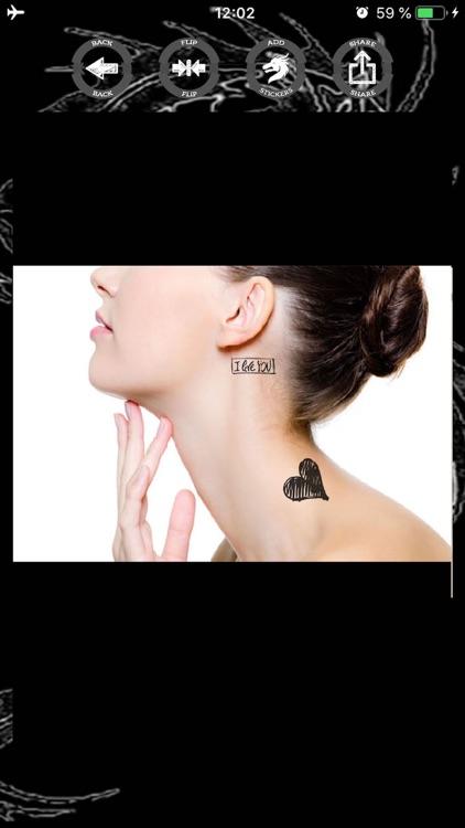 Tattoo stickers photo editor screenshot-4