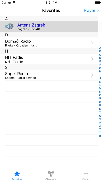 Radio Croatia screenshot-3