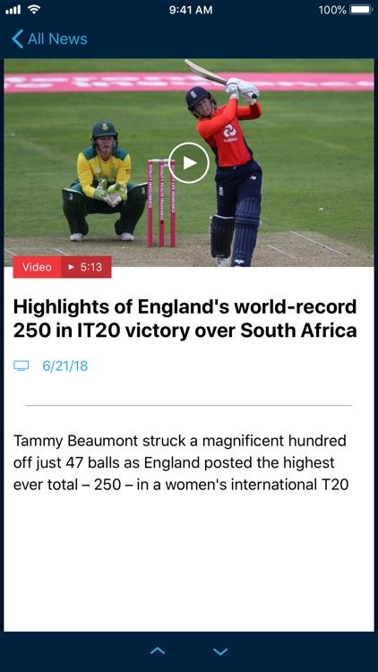 ECB Cricket screenshot-4