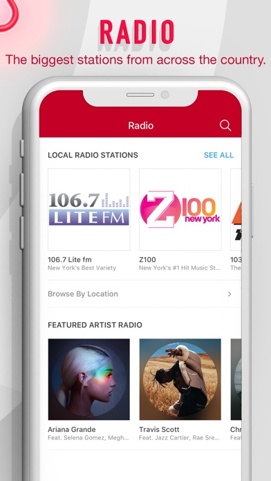 Screenshot for iHeartRadio - Radio & Podcasts in United States App Store