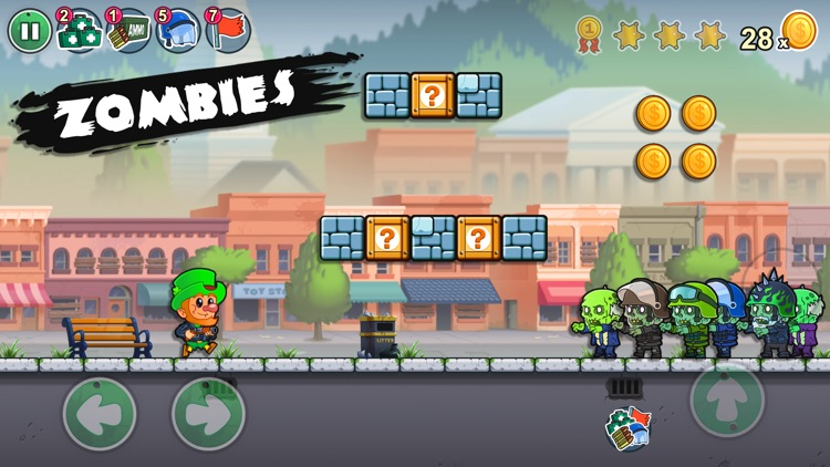Lep's World Z - Zombie Games screenshot-0