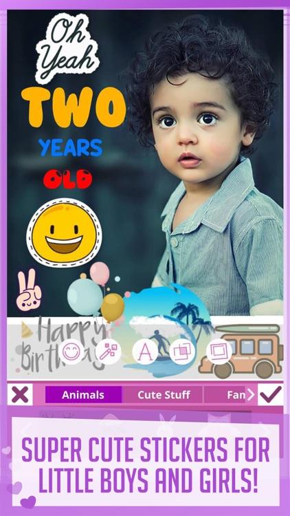 Babily - Baby Milestones Story screenshot-4