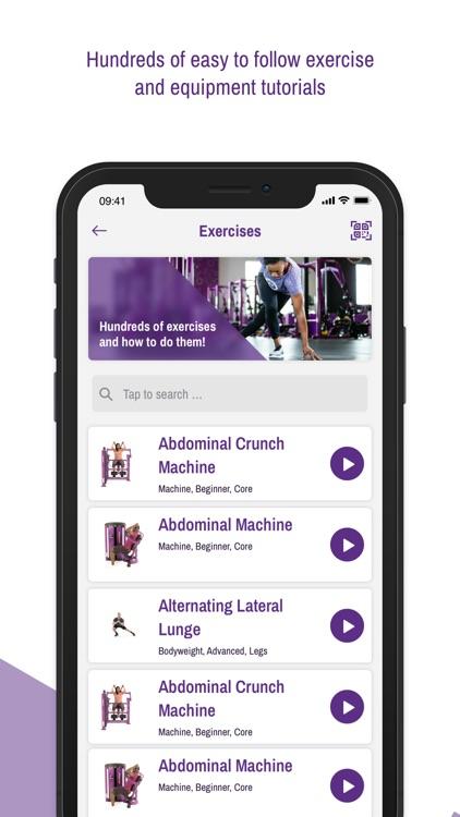 Planet Fitness Workouts screenshot-3
