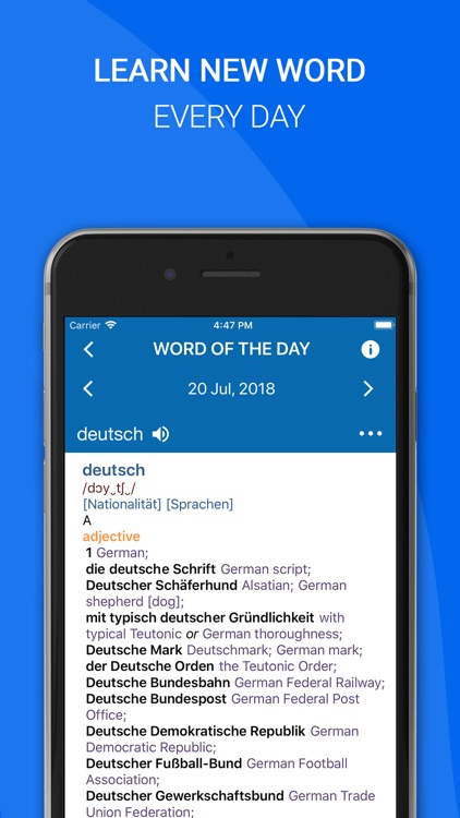 Oxford German Dictionary 2018 screenshot-4
