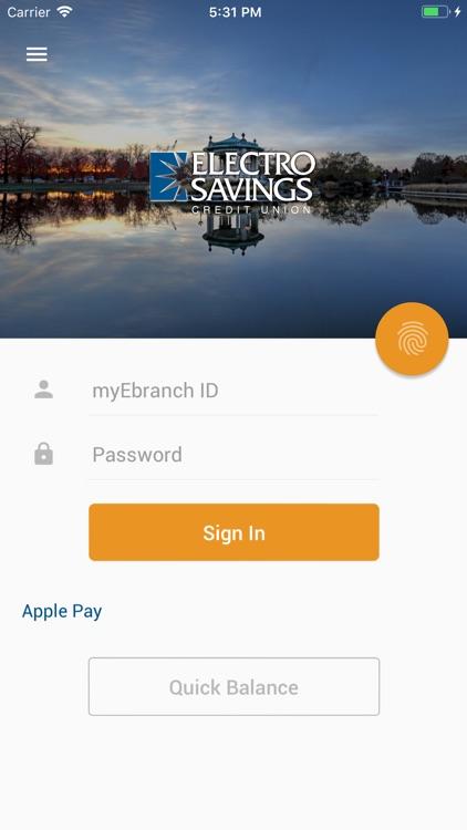 Electro Savings Mobile Banking
