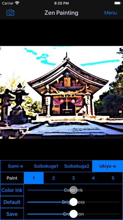 Zen Painting - Ukiyo-e Camera screenshot-5