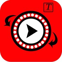 Reverse video - Add caption