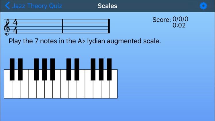Jazz Theory Quiz screenshot-4