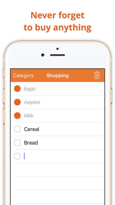 Incart: Simple grocery list screenshot two