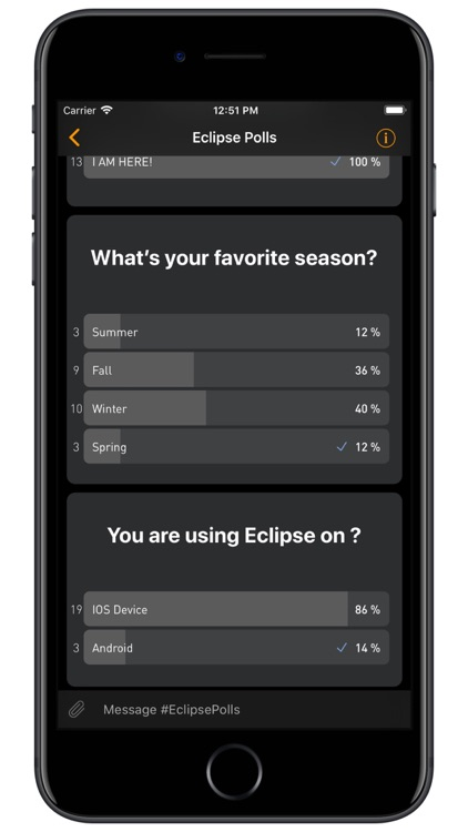 Eclipse - Chat Rooms