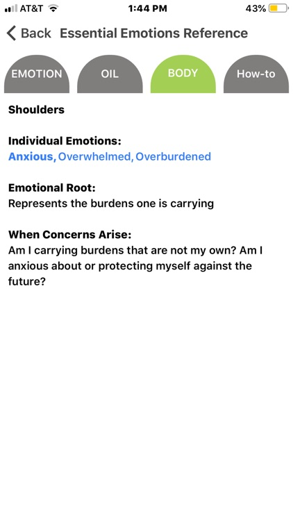 Essential Emotions Reference screenshot-5