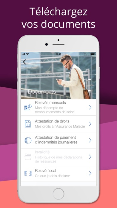 messages.download ameli, l'Assurance Maladie software