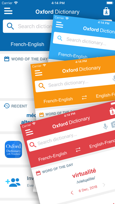 Conc. Oxford French Dictionaryのおすすめ画像5
