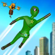 火柴人超级英雄城市战斗