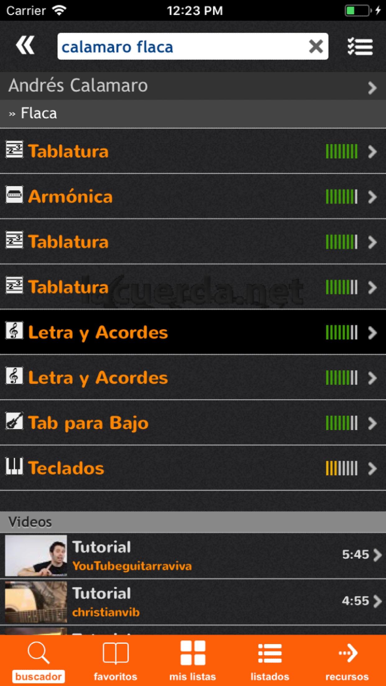 LaCuerda [PRO] Screenshot