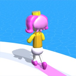 Shoe race: Pencil rush run 3D