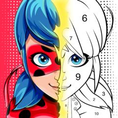 Miraculous Ladybug Сoloring