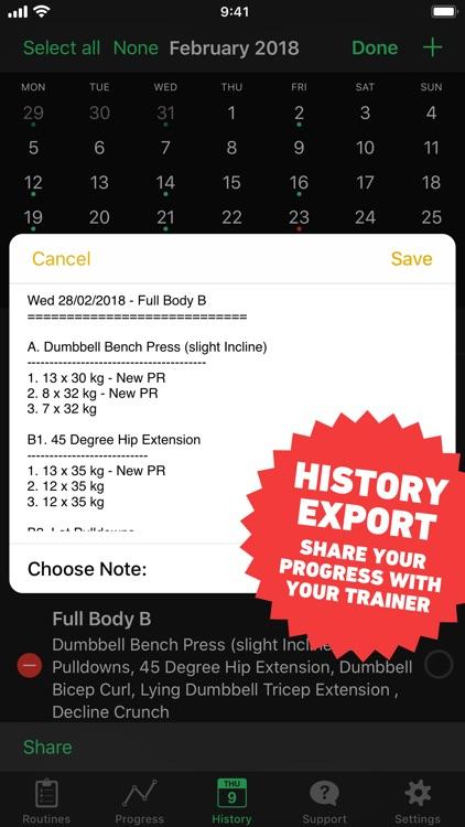 HeavySet - Gym Log Workout screenshot-9