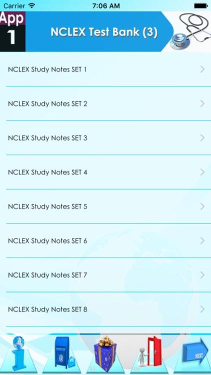 NCLEX Nursing Test Bank  7700Q screenshot-3