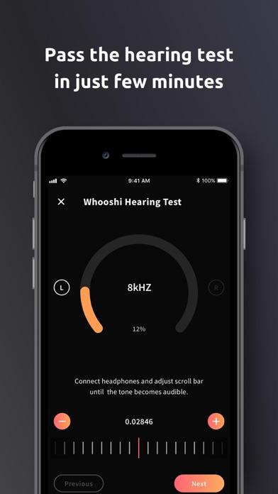 WHOOSHI Personal Audio Player screenshot three