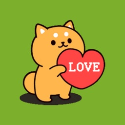 Lovely Puppet (Dog) Stickers