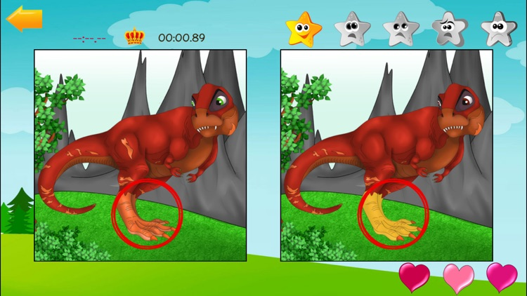 Find difference game for kids