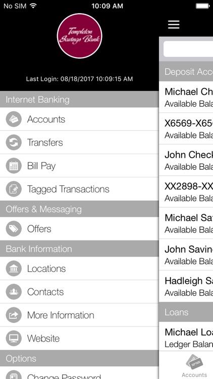 Templeton Savings Bank Mobile screenshot-4
