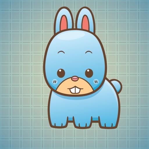 Sticker Me Cute Bunny