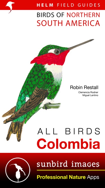 All Birds Colombia field guide