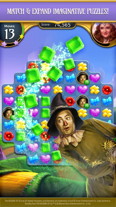 The Wizard of Oz Magic Match 3 for Pc