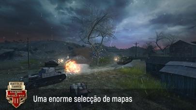 Screenshot for Battle Tanks: Jogos de Tanques in Portugal App Store