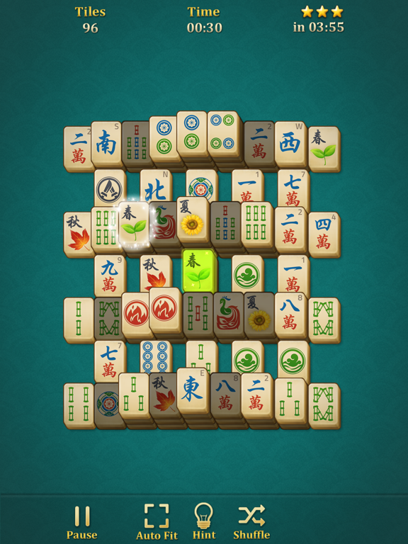 Mahjong Solitaire: Classic screenshot 6