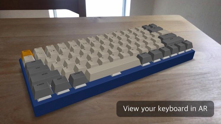 Keyboard Designer AR screenshot-4