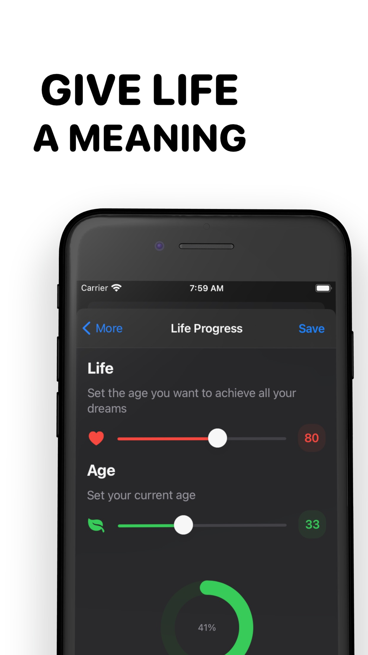 Screenshot do app Watch Progress - Make Your Day