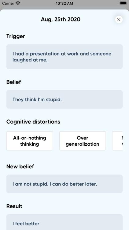 CBT Self-Care Journal screenshot-7