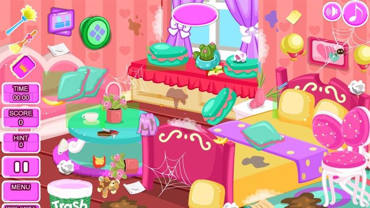 Princess room cleanup games screenshot-8