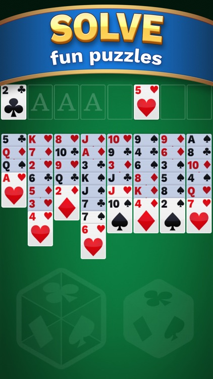 Freecell Solitaire Cube screenshot-1
