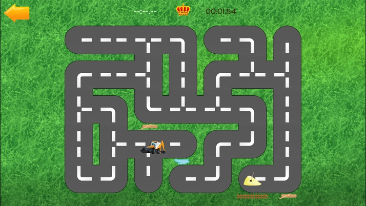 Cars Road Labyrinth Kids Game screenshot-3